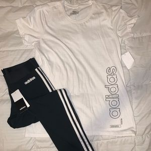 NWT ADIDAS OUTFIT SIZE SMALL